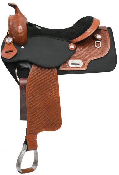 Double T Cordura/Leather Saddle