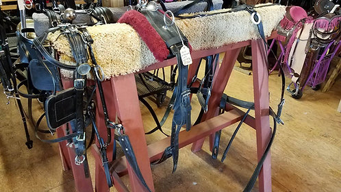 "19"" Hame Buggy Harness"