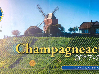 A taste of champagne