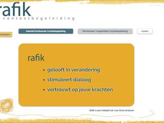 Nieuwe website Rafik