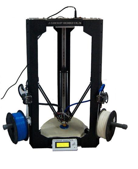 250mm bed size delta 3d printer