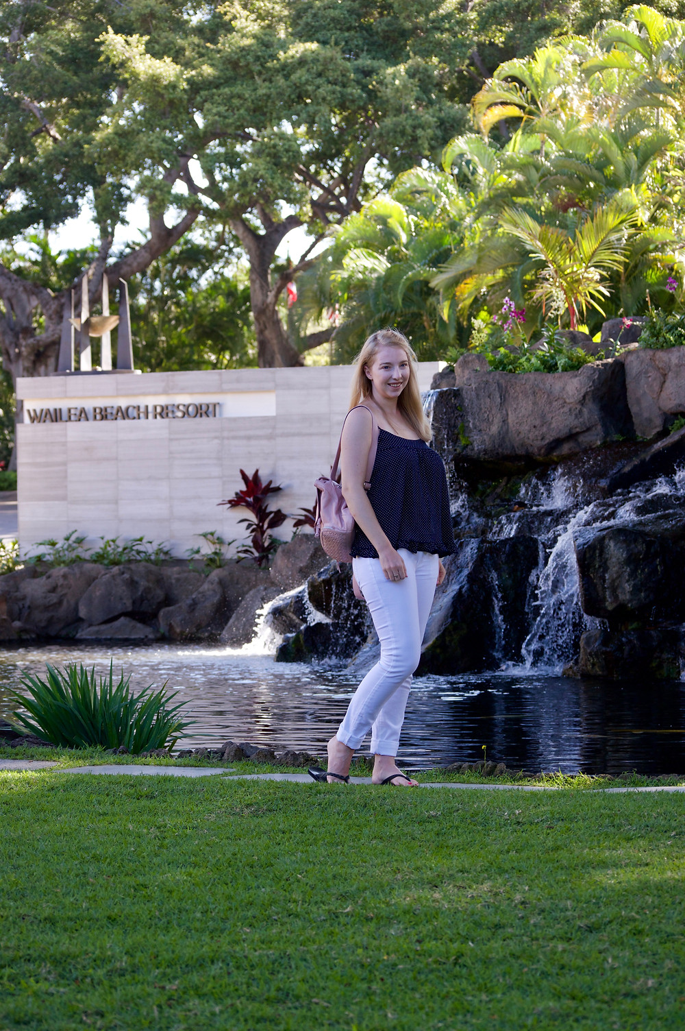 Jennifer Nicole at the Wailea Marriott in Maui