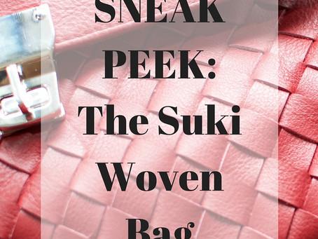 SNEAK PEEK: The Suki Woven Bag