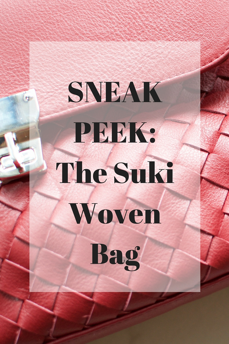 The Suki Woven bag, coming soon! Behind the scenes first look at our newest product.