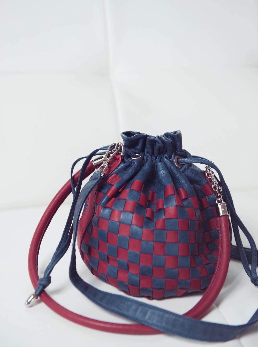 Jaclyn Hand Woven Bucket Bag