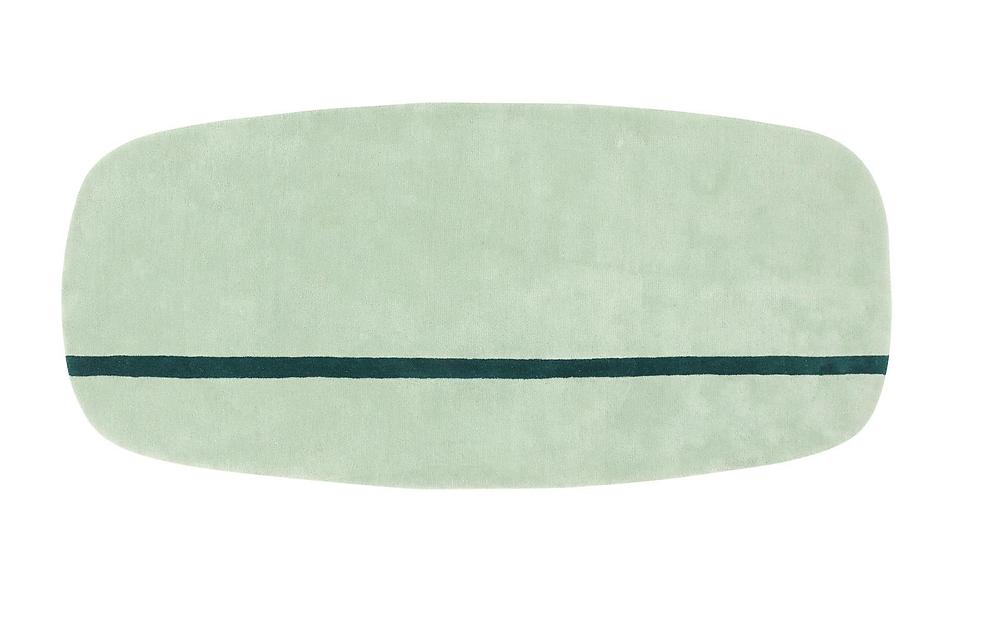 Oona käsitöövaip kvaliteetsest Uus-Meremaa villast. 90 cm x 200 cm