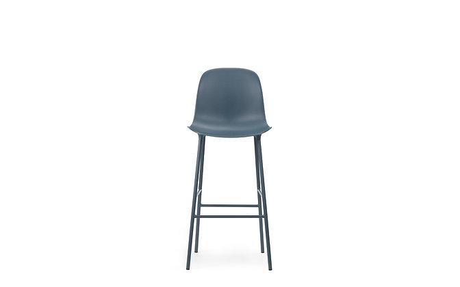NORMANN COPENHAGEN Form Bar Chair Steel