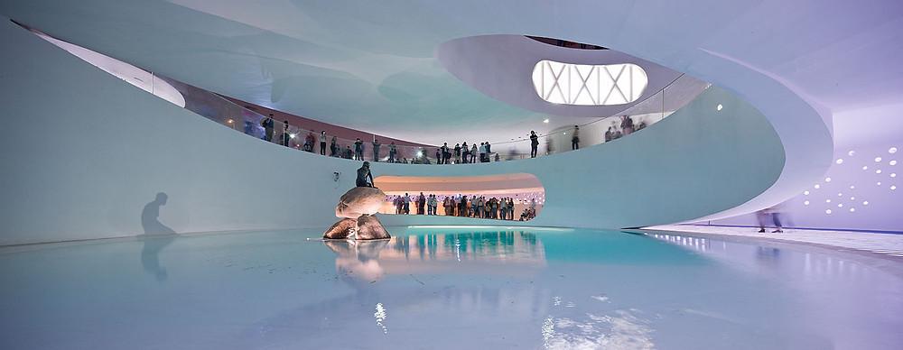 Väike Merineitsi külas Shanghais, EXPO Maailmanäitusel. Foto: Pinterest.com