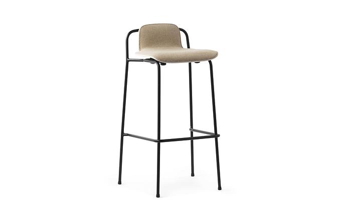 NORMANN COPENHAGEN Studio Barstool Front upholstery