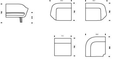 Sum moodusohva piktogramm annab võimaluse erinevaid mooduleid kombineerida ruumi mõõtude ja -paigutusega.