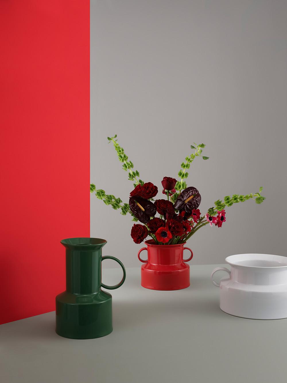 PANTO vaasid sobivad ka lillepottideks või on lihtsalt pilgupüüdjad