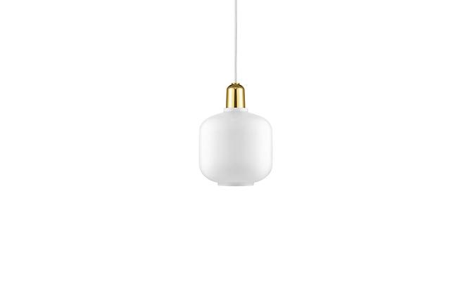 NORMANN COPENHAGEN Amp Lamp Small EU brass