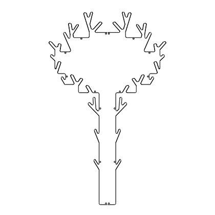 MAZE Tree hanger
