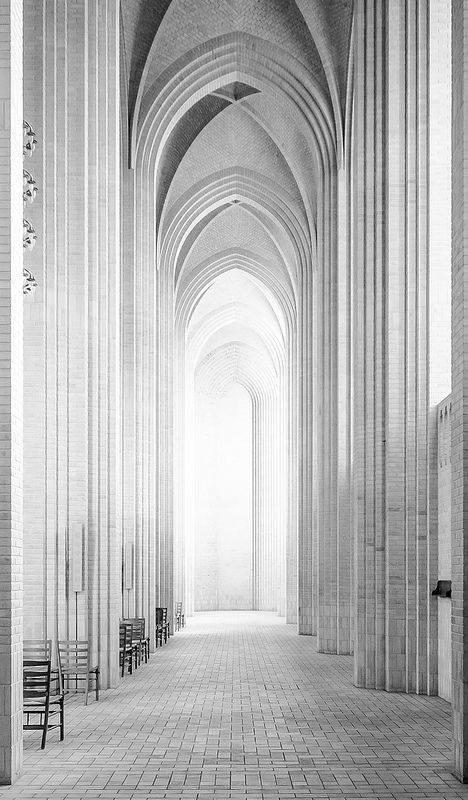 Kopenhageni Grundtvig´i kirik - kummardus Taani disanipärandile.