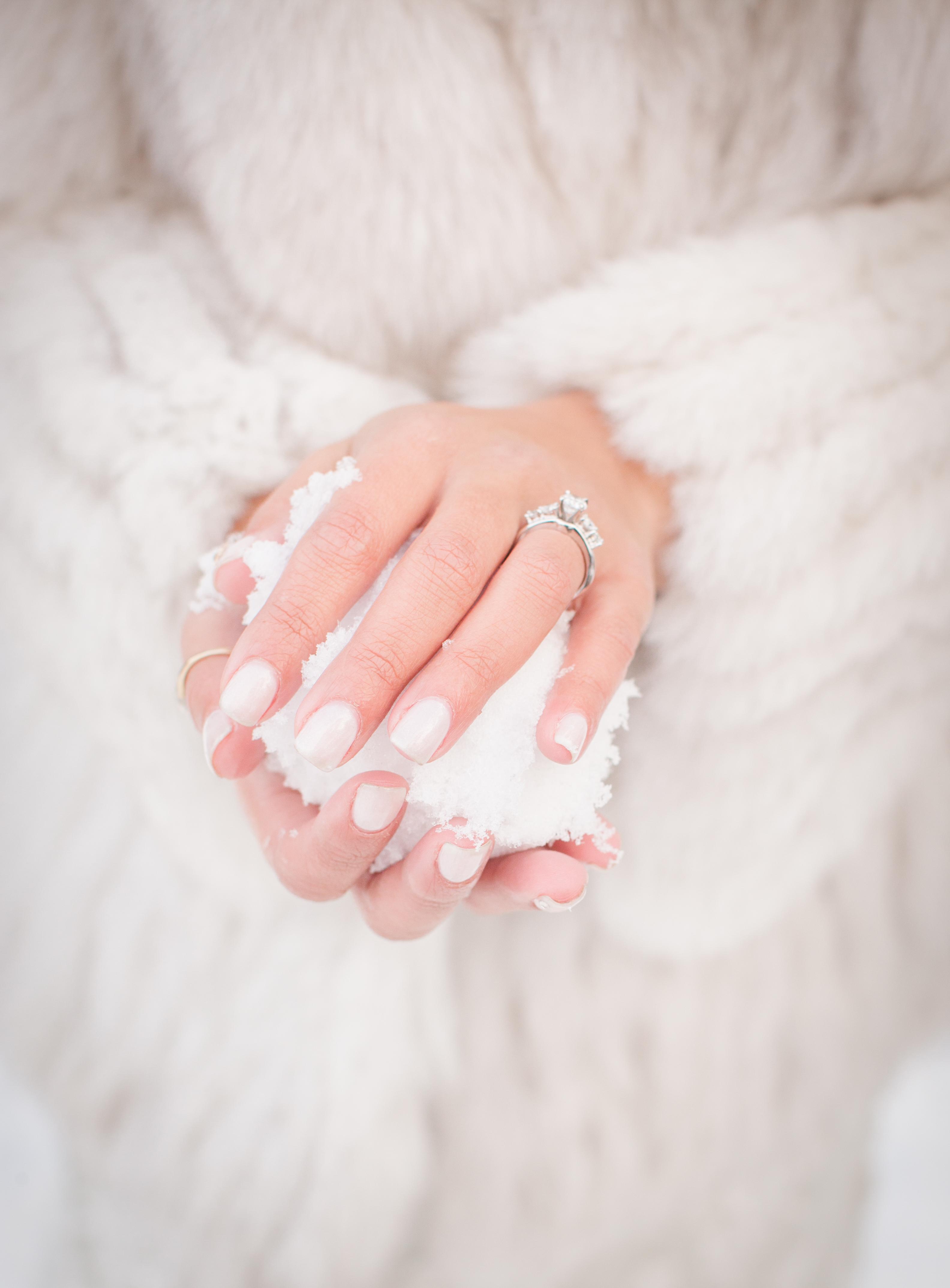 oregon winter wedding