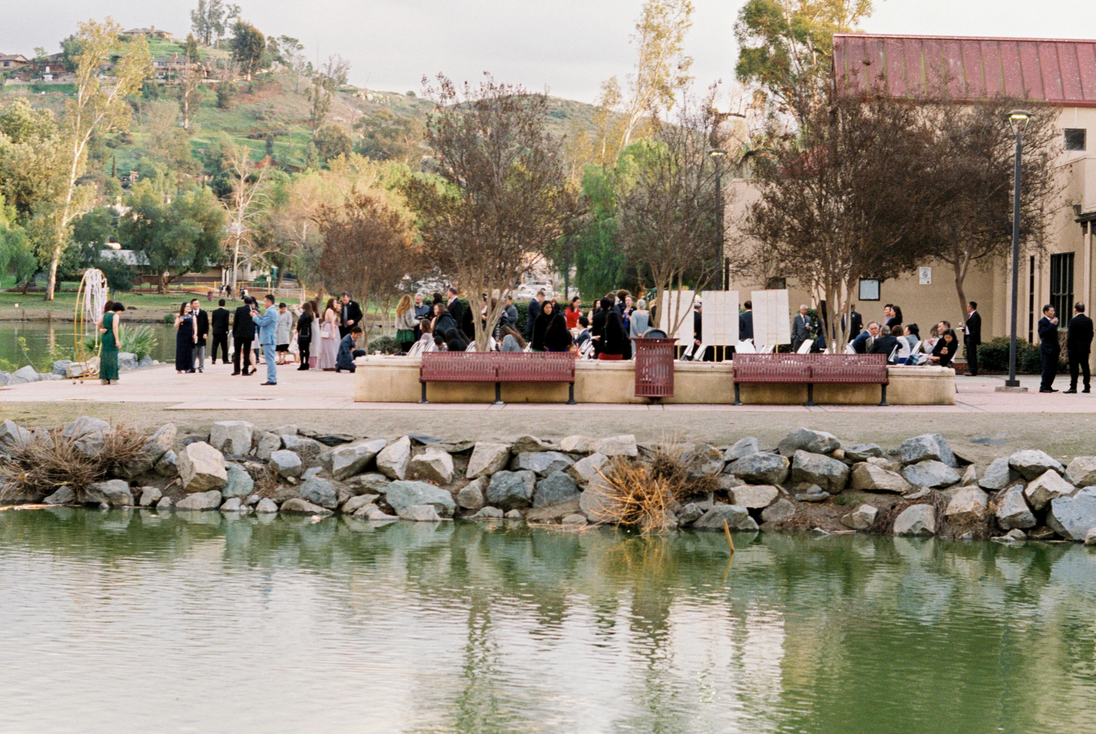 lakeside wedding california