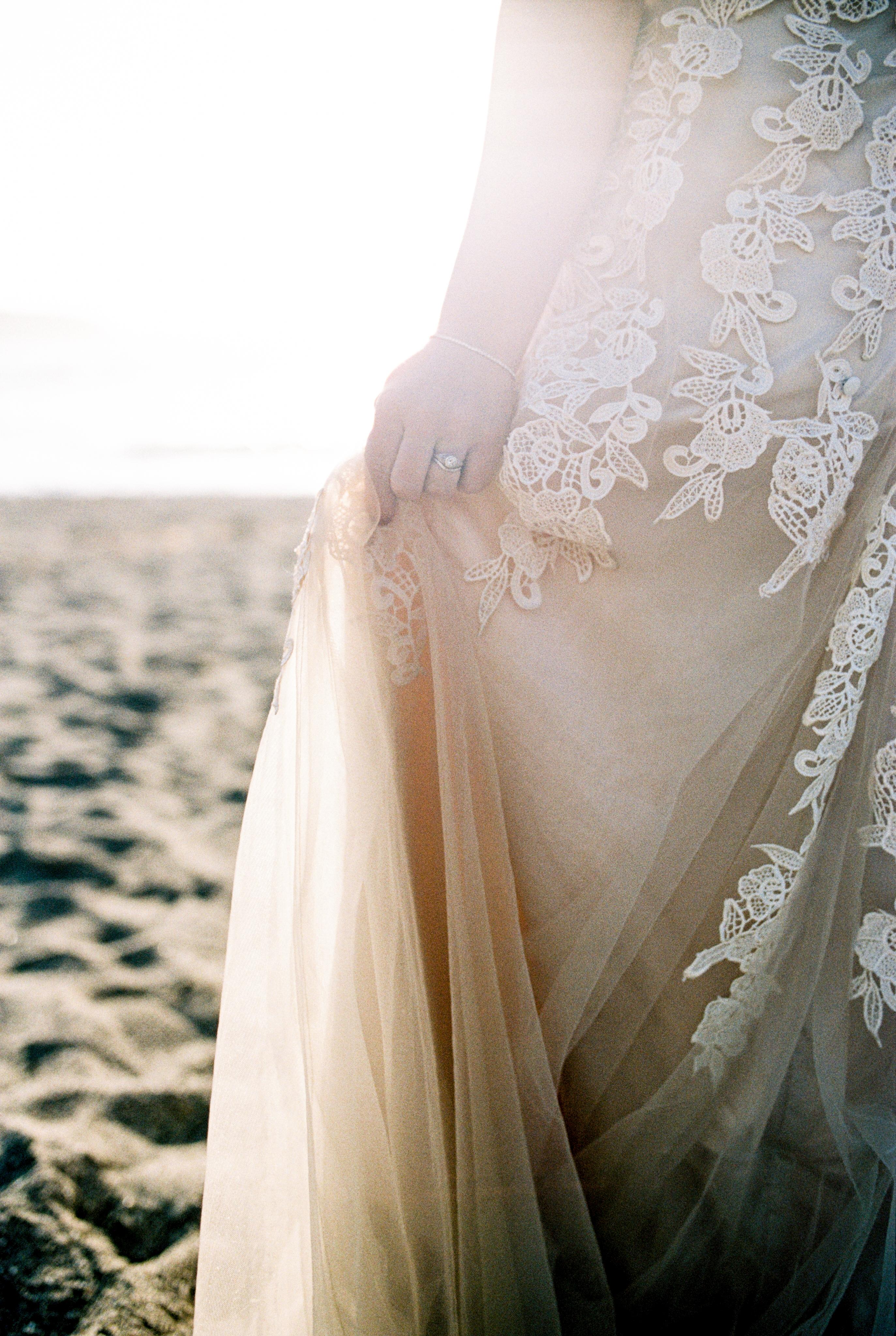 nor cal beach wedding