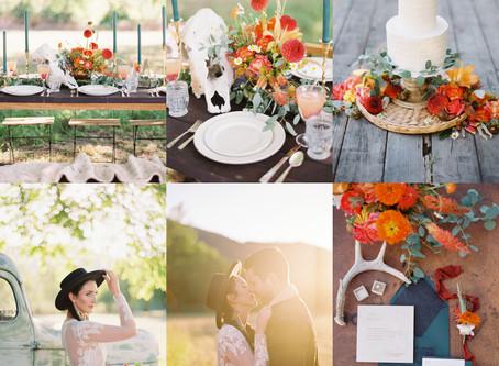 Modern Cowboy Wedding