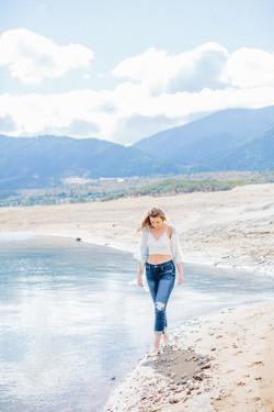 lakeside photoshoot