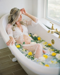 lemon milk bath
