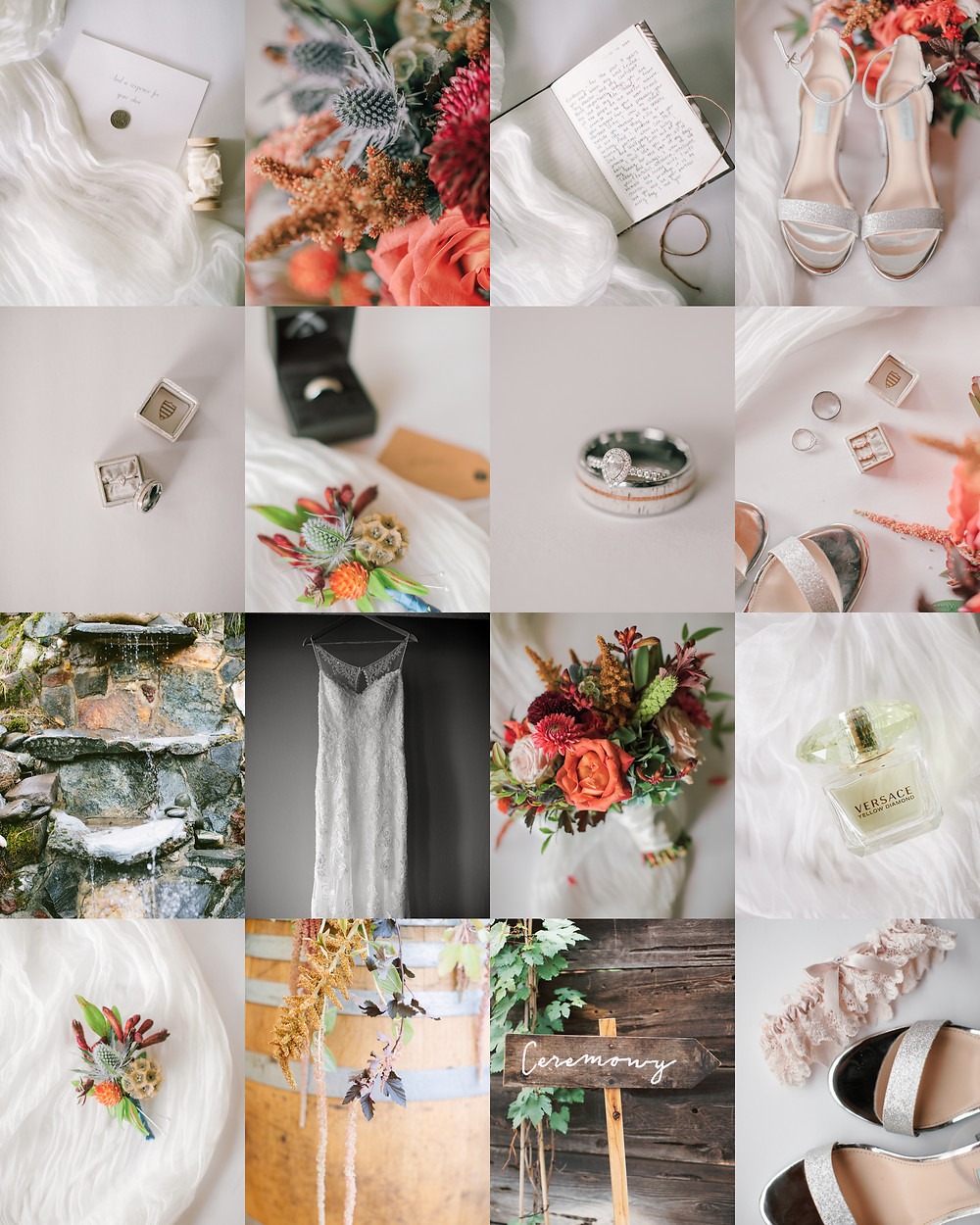Wedding day details medford oregon