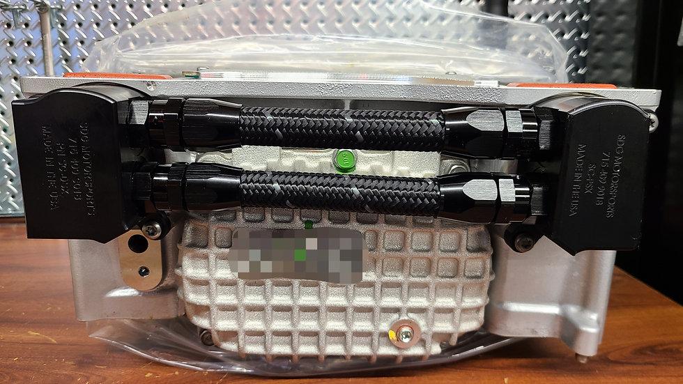 Low profile water manifolds