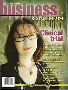 Business London featurin Medpoint Healthcare Centr