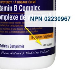 Figure #3: Natural product number. Image source: https://www.bestbuy.ca/en-ca/research/vitamins-buying-guide/rc9067.aspx