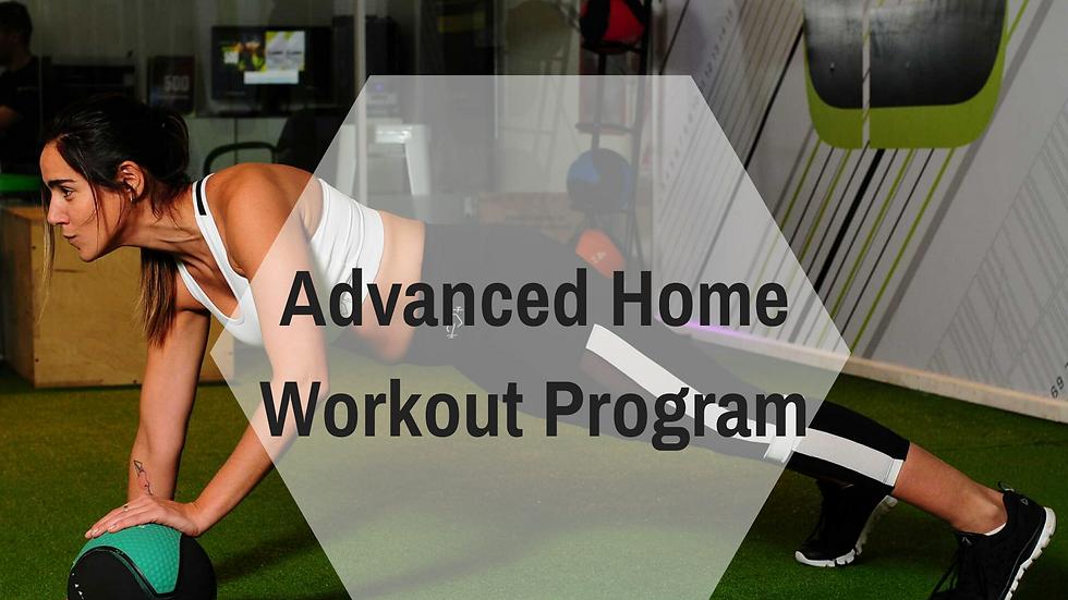 4 Week Advanced Workout Program