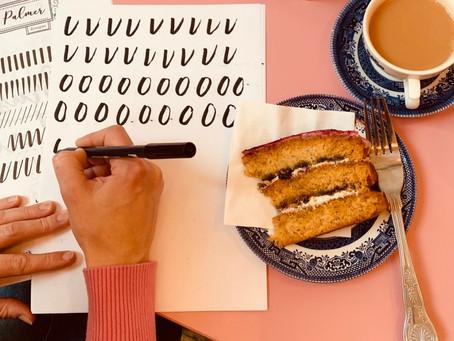 February Brush Lettering Workshops You'll Love