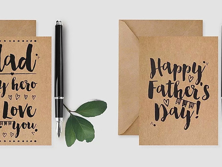 Personalised Father's Day cards and gifts