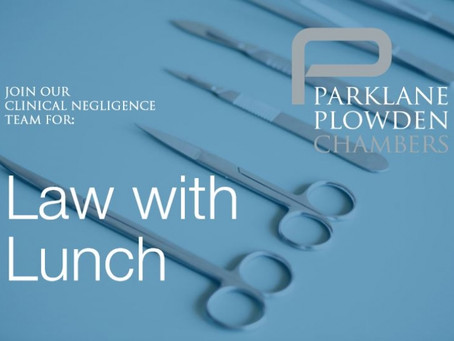 Law with Lunch: Talking teeth whilst using teeth