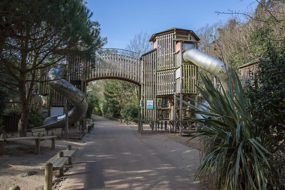 Part of the Lower Lees Coastal Park in Folkestone