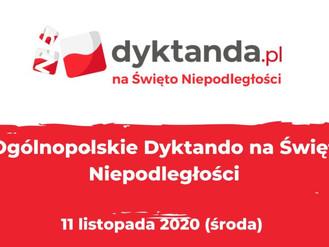 """""""Dyktando na Święto Niepodległości"""""""