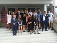 Spotkanie Starosty Górowskiego z absolwentami Gimnazjum Dwujęzycznego w Górze