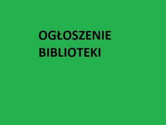"""Konkurs  online pod nazwą  """"Znam terminologię biblioteczną"""""""
