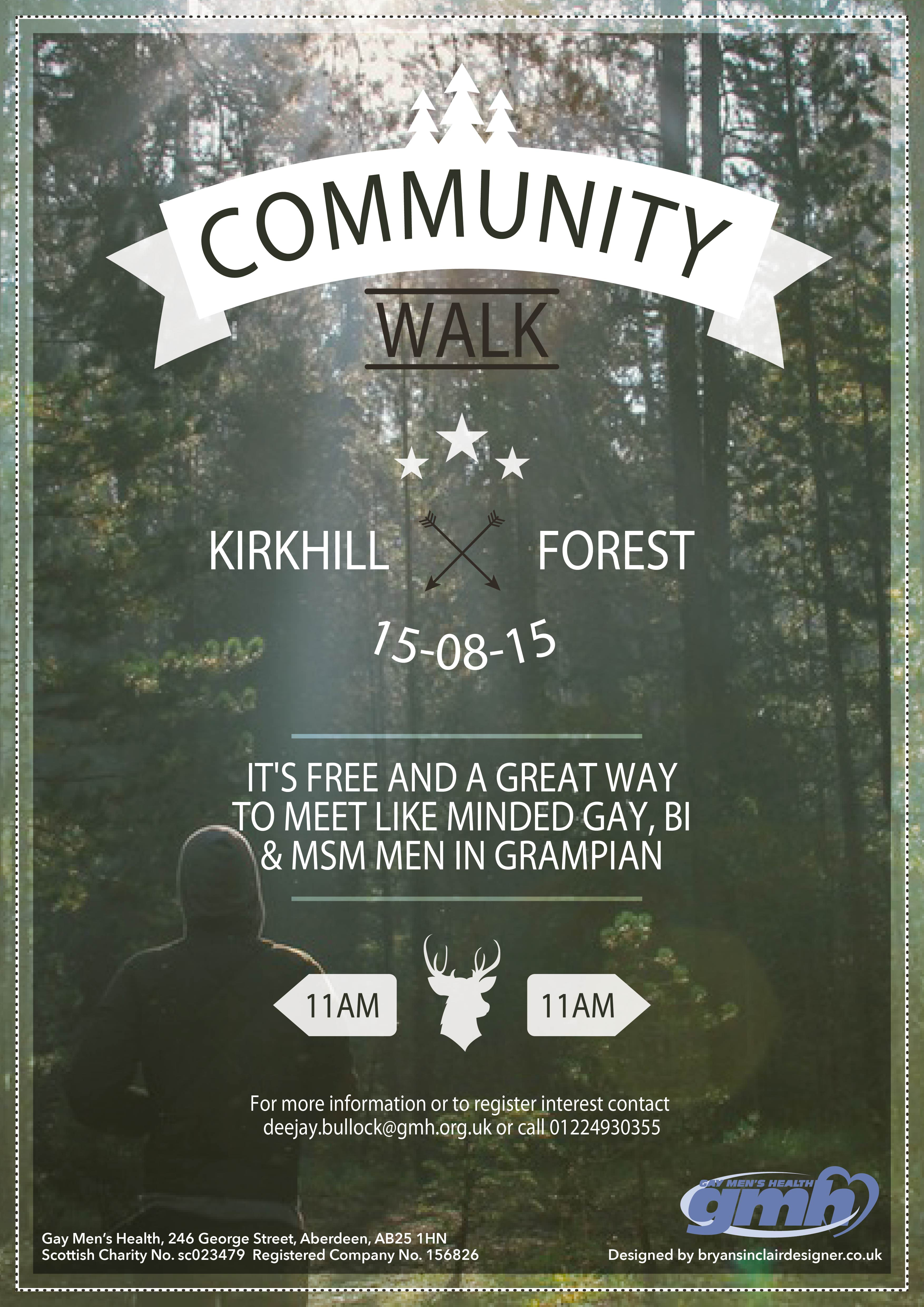 Community Walk Poster