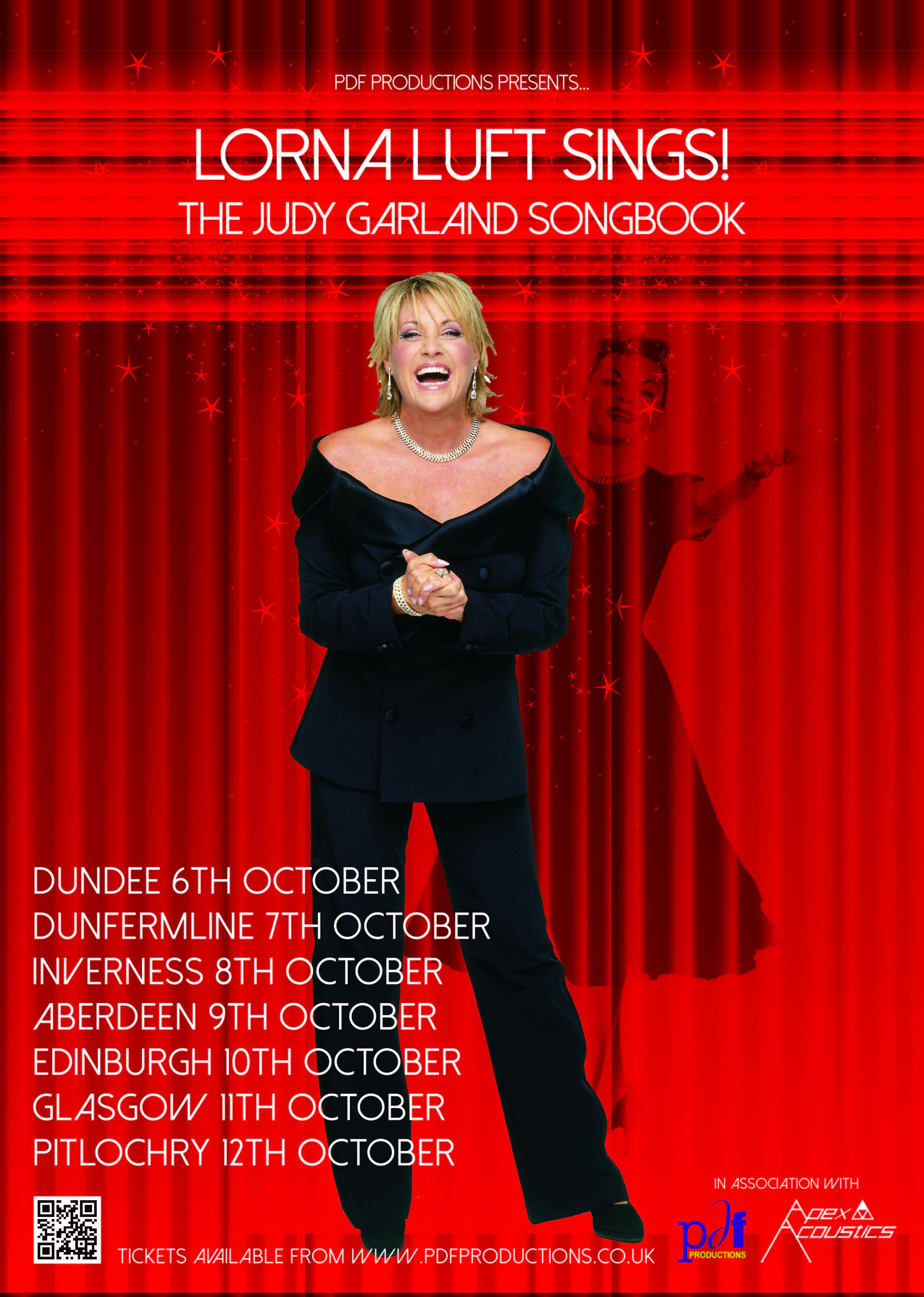 Lornta Luft Sings Poster
