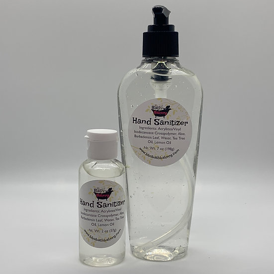 Hand Sanitizer 2 ounce bottle