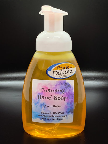 Peach Bellini Foaming Hand Soap