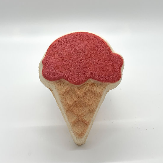 Ice Cream Cone Bath Bomb