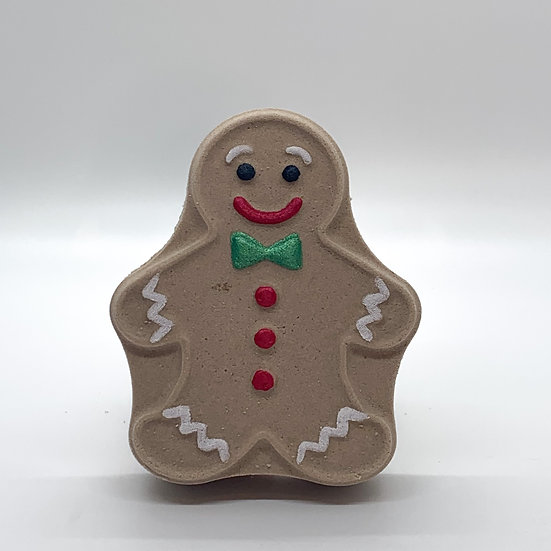 Gingerbread Man Bath Bomb