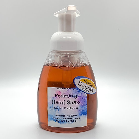 Spiced Cranberry Foaming Hand Soap