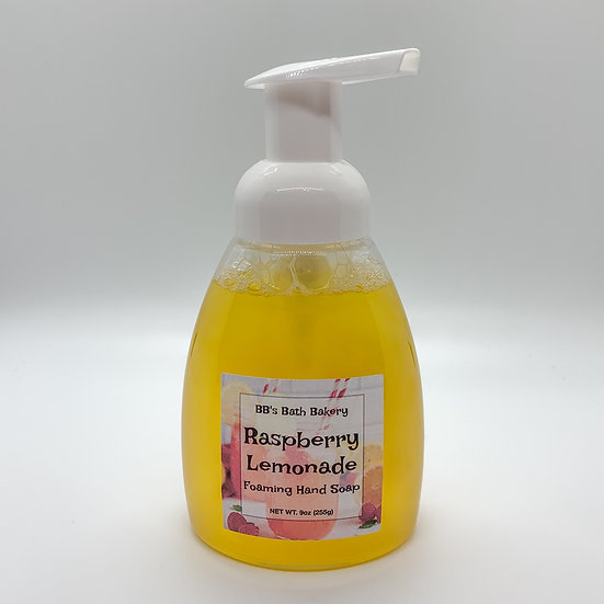 Raspberry Lemonade Foaming Hand Soap