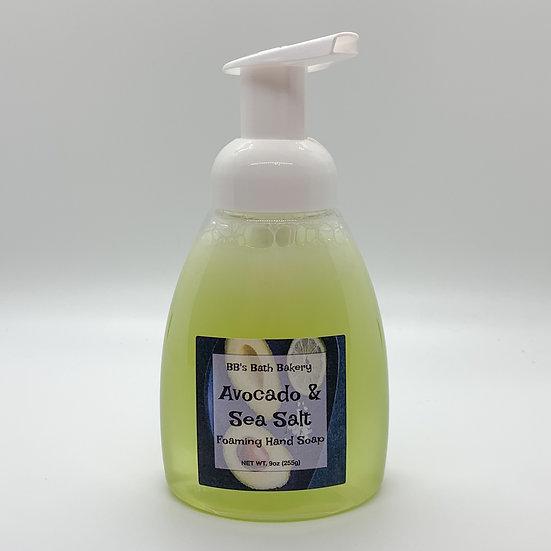 Avocado & Sea Salt Foaming Hand Soap