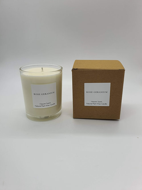 Rose Geranium Essential Oil 20cl Soy Wax Candle