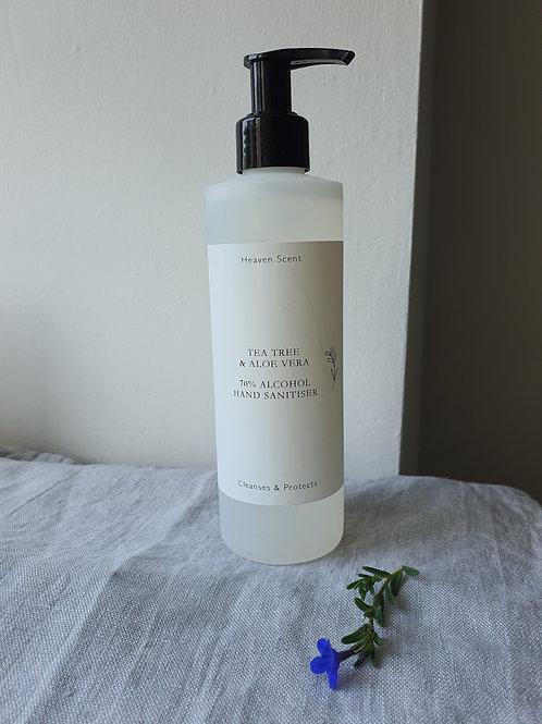 Tea Tree & Aloe Vera Hand Sanitiser in 250ml Bottle