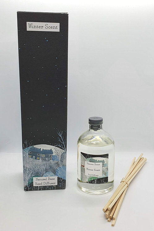 Winter Scent 100ml Reed Diffuser in Illustrated Box