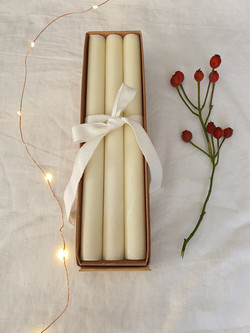 Natural Dinner Candles