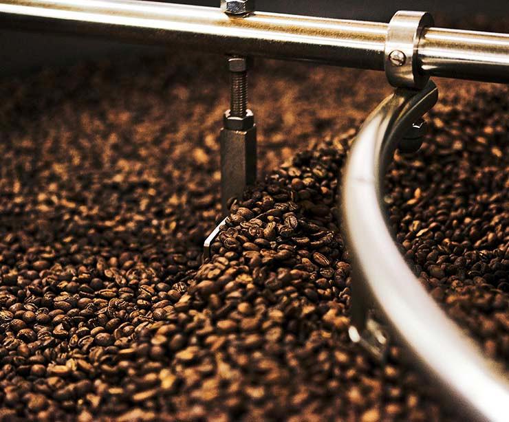 granos de café tostado Porte